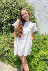 Puff Sleeve Little White Dress