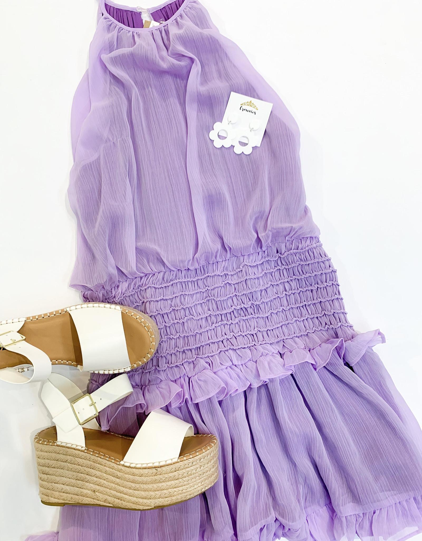 Layton Lavender Dress