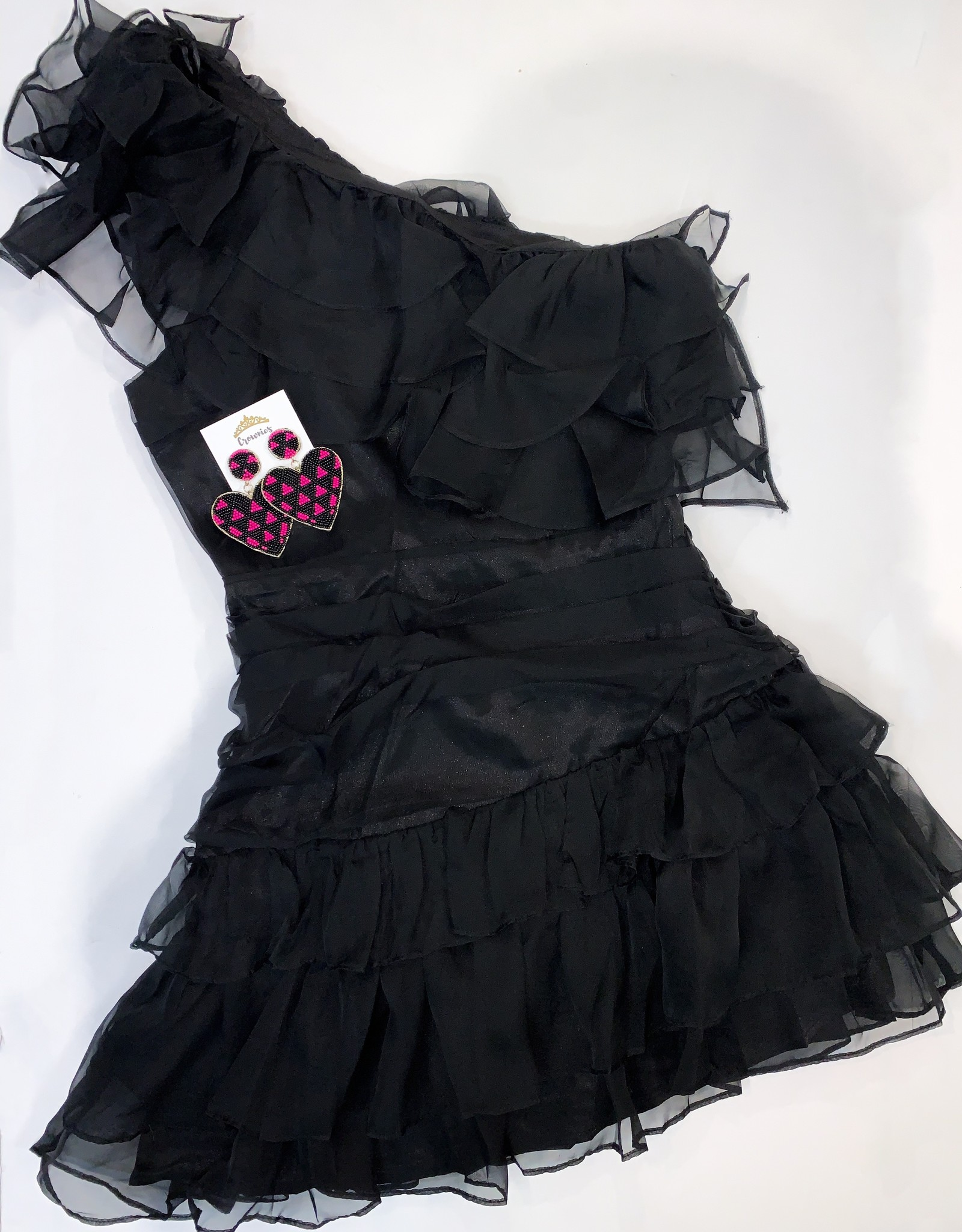 Maggie  Ruffle Dress
