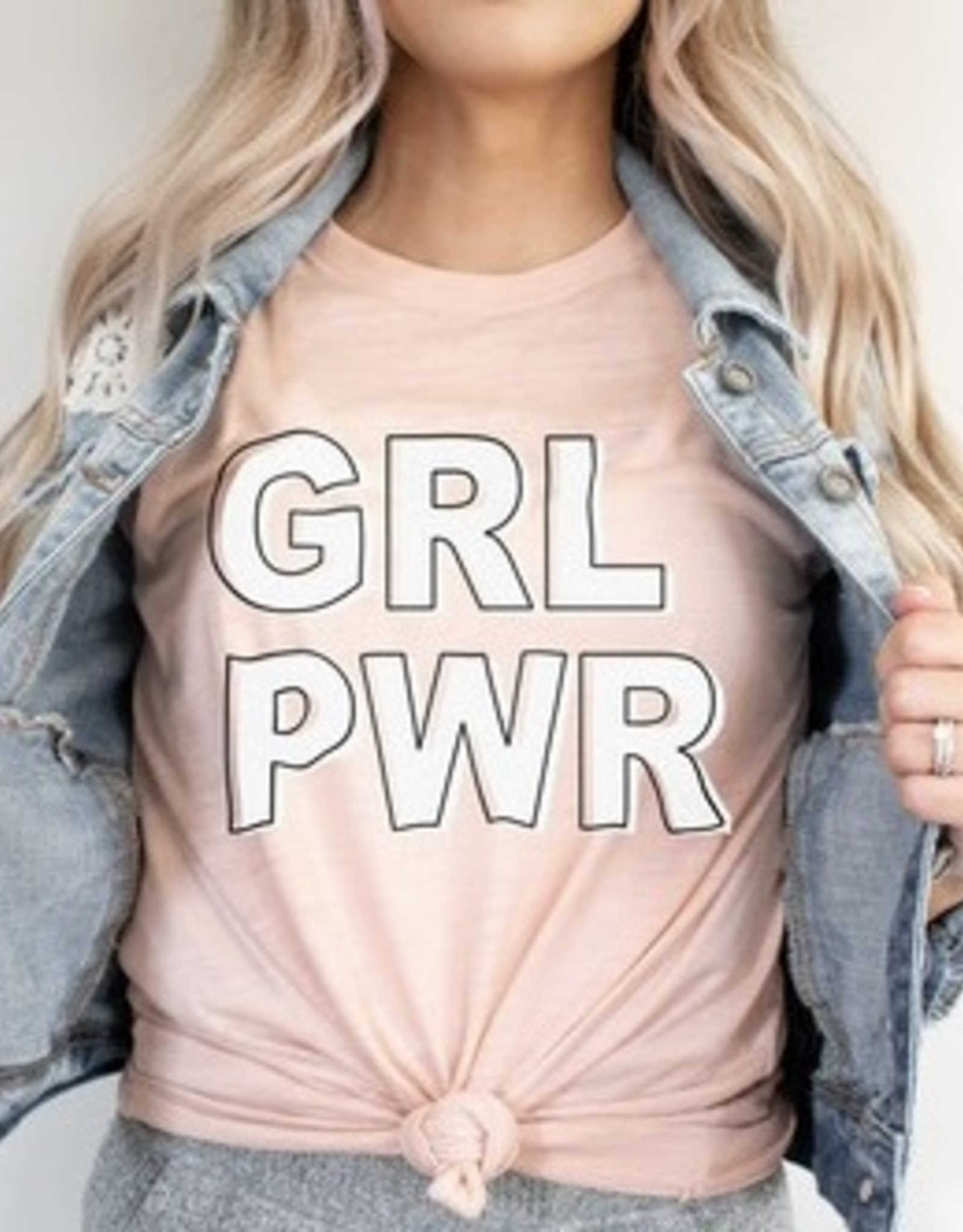 GRL PWR Tee