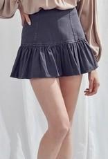Darby Dark  Denim Skirt