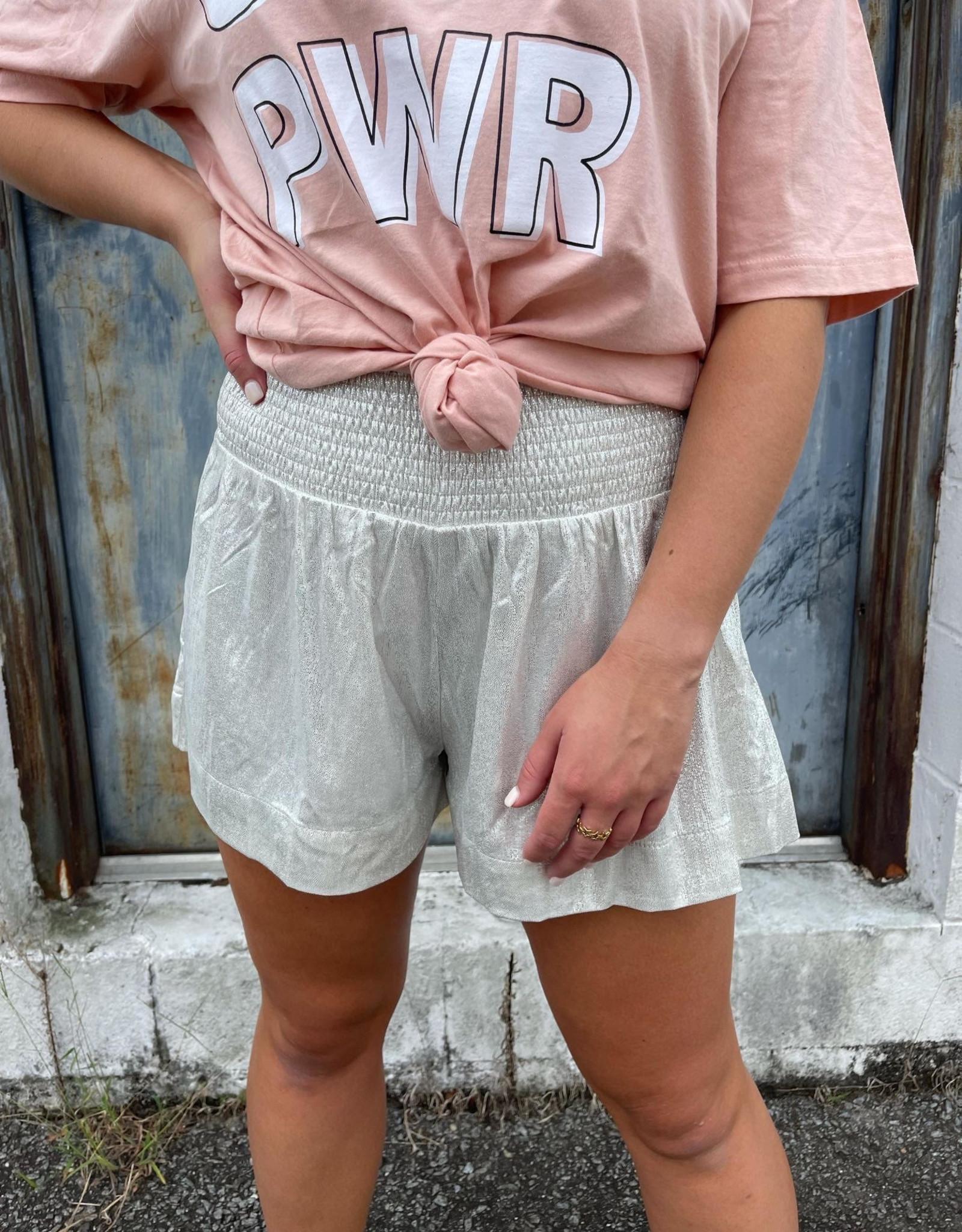 Eden Metallic Shorts