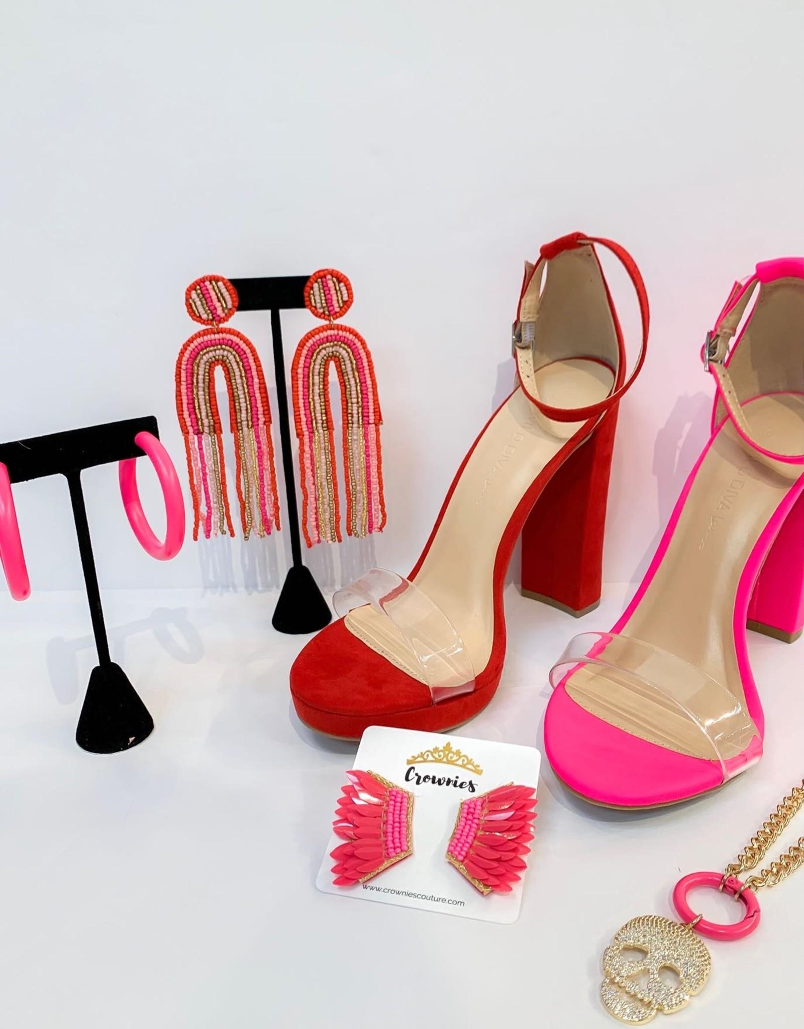 Scarlet Red Heels