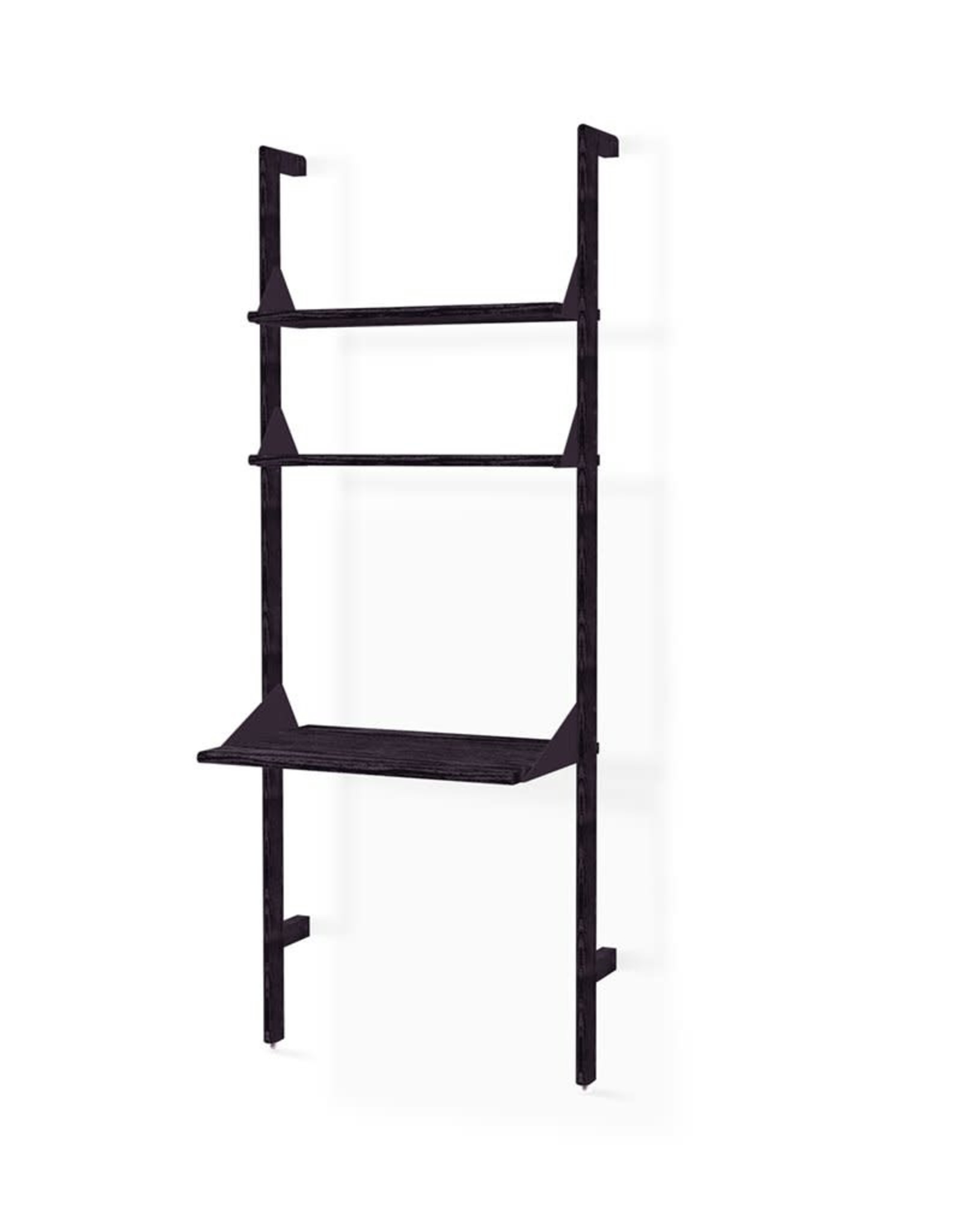 Gus* Modern Branch-1 Shelving Unit with Desk
