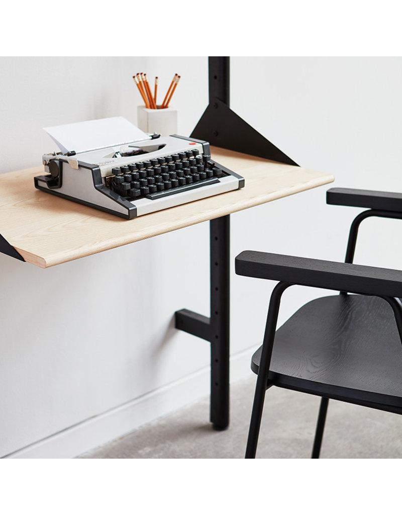 the latest fd3ca 30a02 Gus* Modern Branch Desk Shelving Unit Add-on
