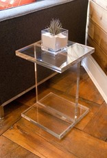 Gus* Modern Acrylic I-Beam Table