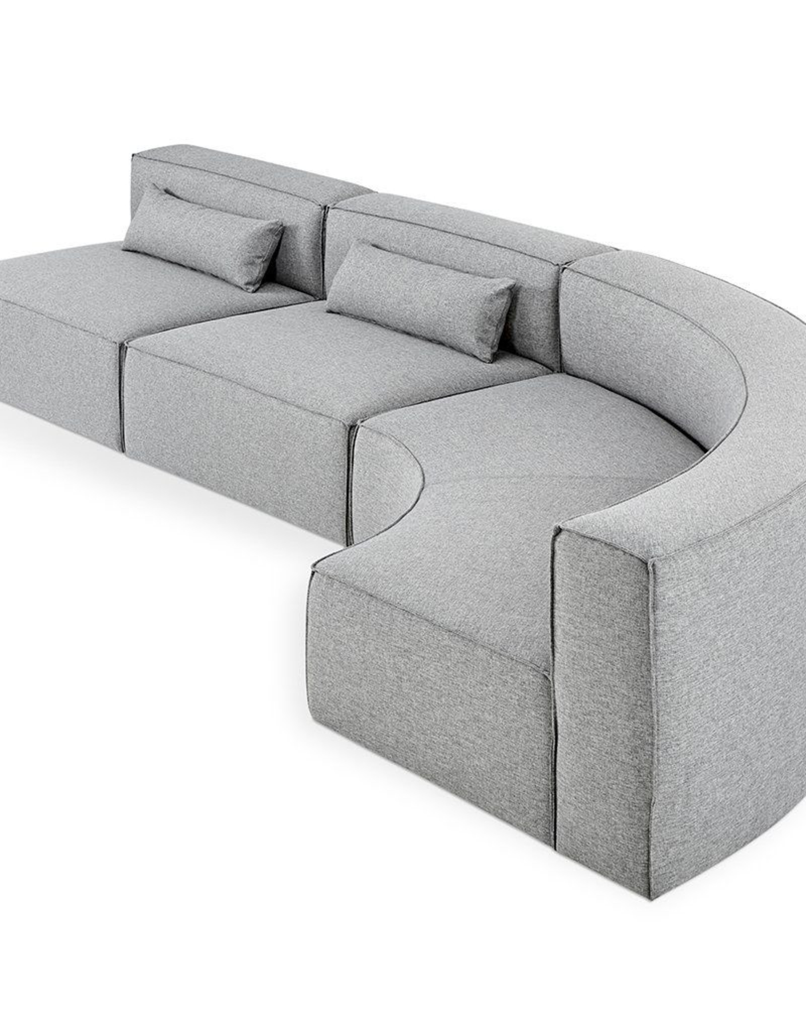 Gus* Modern Mix Modular Sectional, Arc