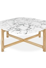 Gus* Modern Quarry Coffee Table, Square