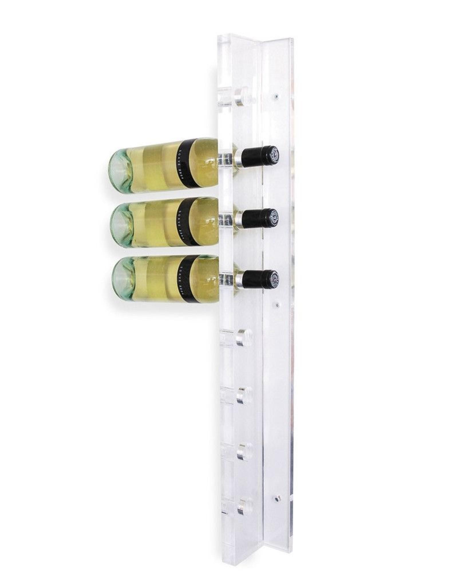 Gus* Modern Acrylic Wine Rack