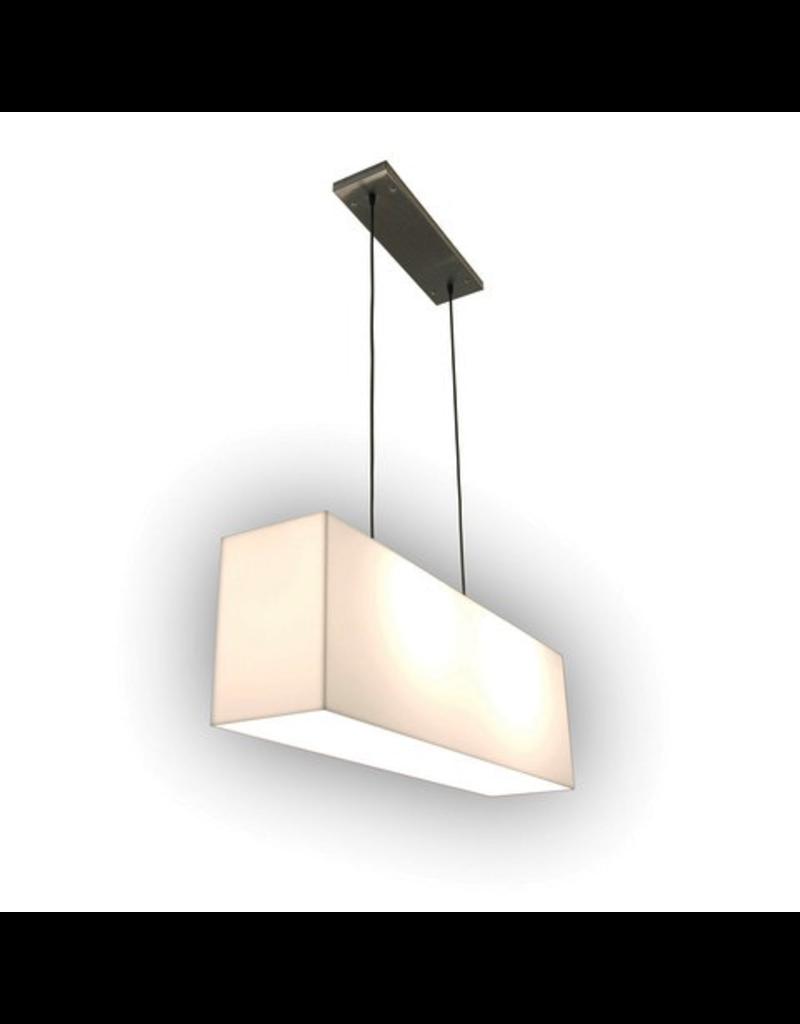 Gus* Modern White Hanging Lamp