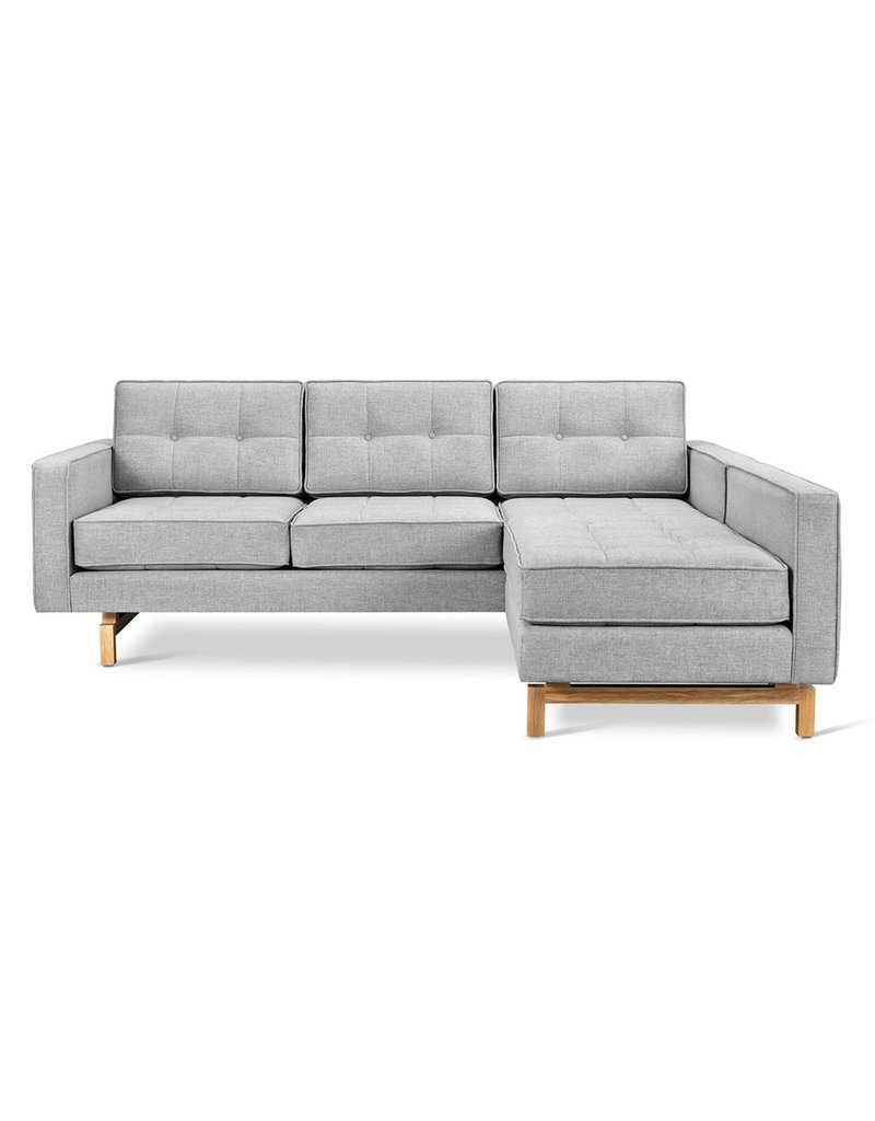 Gus* Modern Jane 2 LOFT Bi-Sectional, Natural Ash