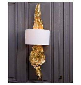 Regina Andrew Design Gilded Drift Wood Sconce