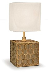 Regina Andrew Design Gold Honeycomb Mini Table Lamp
