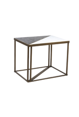 Dovetail Hayes End Table, Set of Two