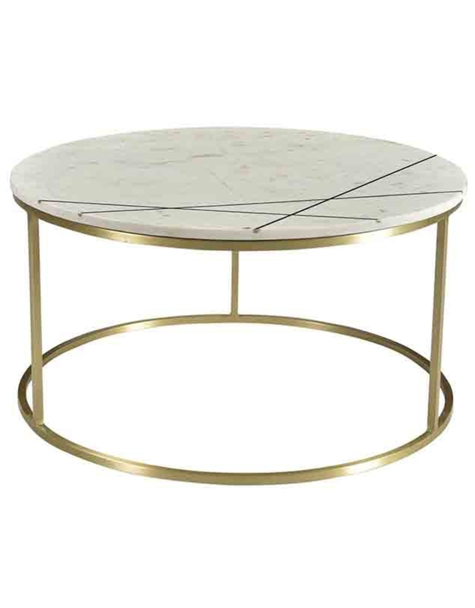 Dovetail Zoth Coffee Table - White