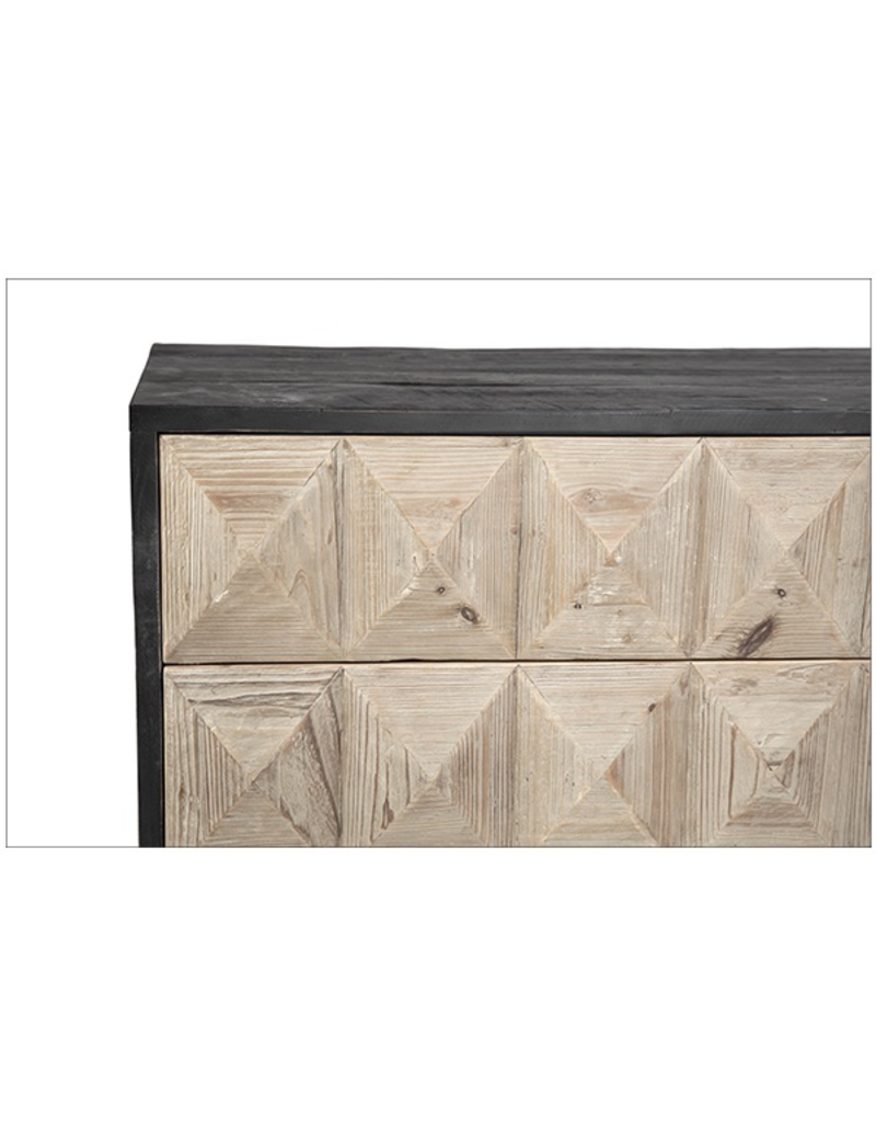 Dovetail Anslow 3 Drawer Chest
