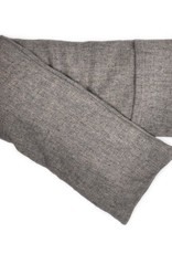 Elizabeth W Hot/Cold Flaxseed Pack, Heather Gray Wool