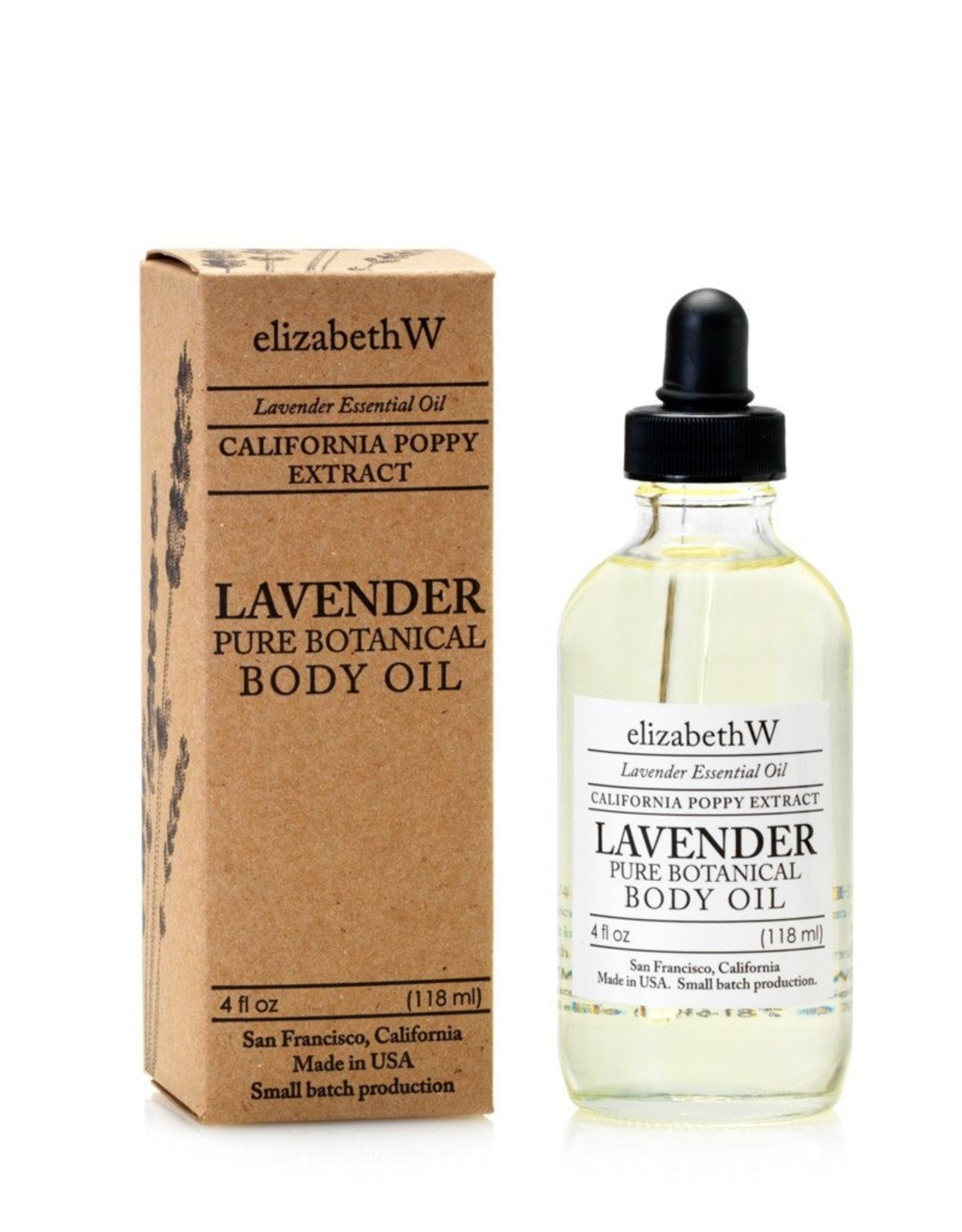 Elizabeth W Lavender Body Oil