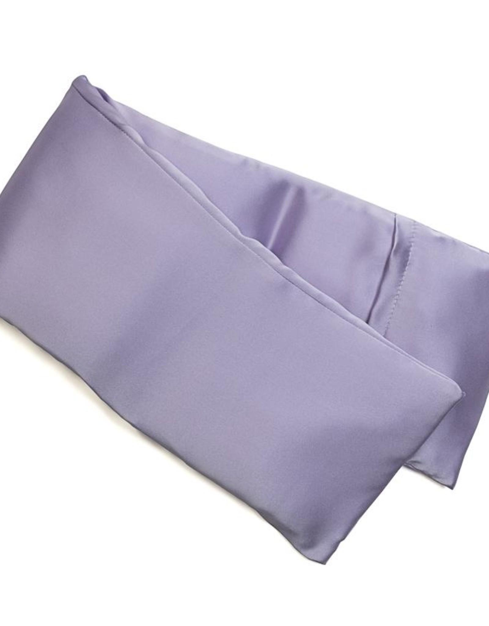 Elizabeth W Hot/Cold Flaxseed Pack, Purple Silk