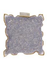 Elizabeth W Lavender Gold Edge Sachet