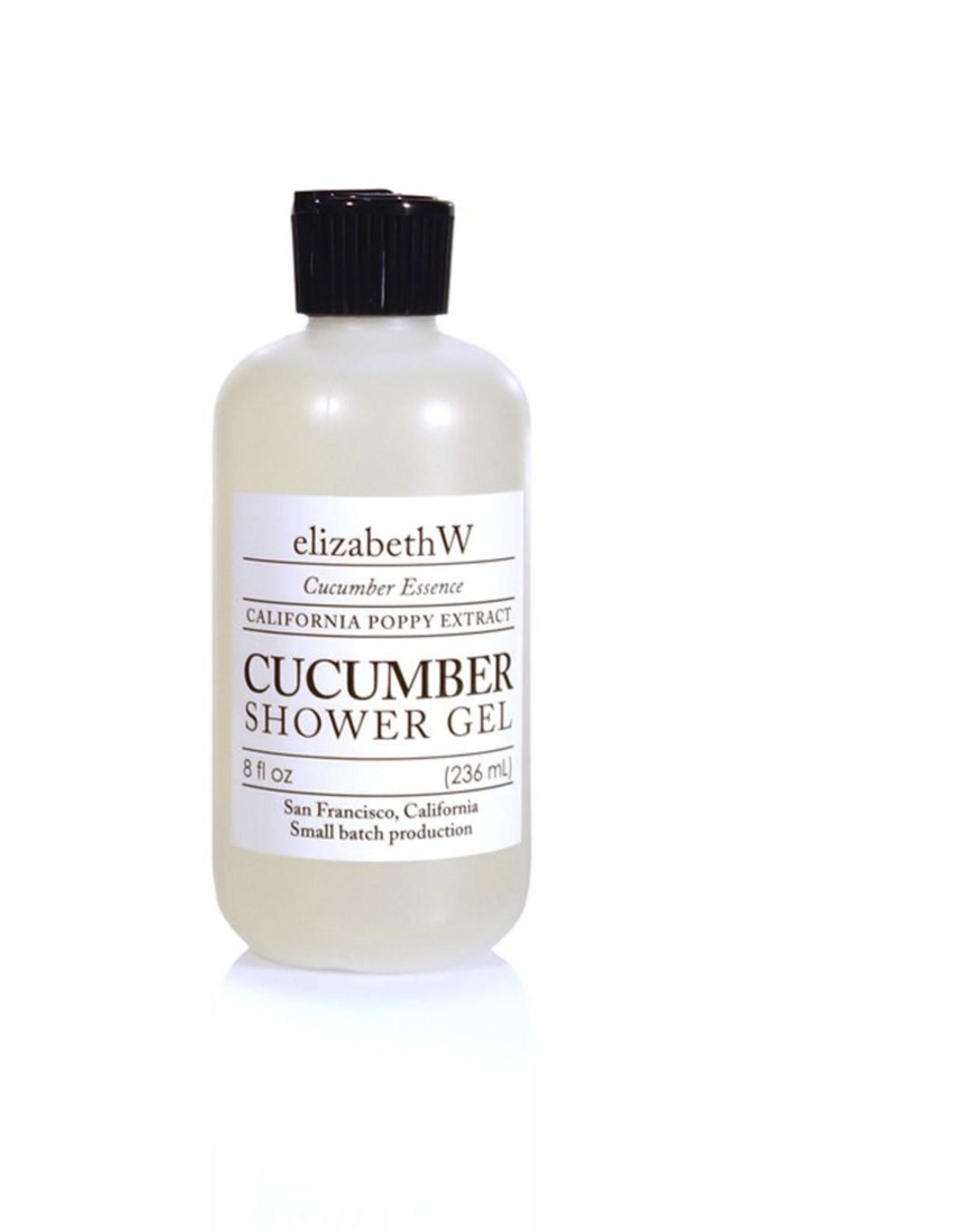 Elizabeth W Cucumber Shower Gel
