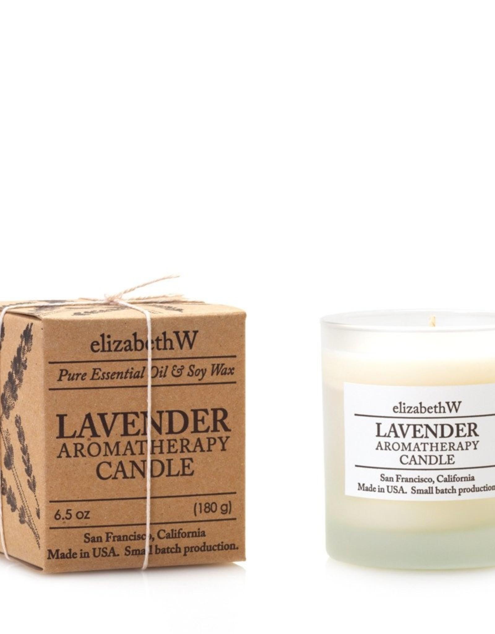 Elizabeth W Lavender Aromatherapy Candle