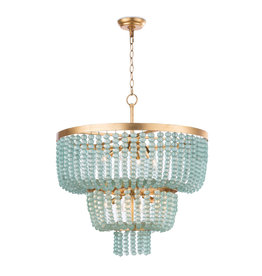 Regina Andrew Design Summer Glass Bead Chandelier, Large