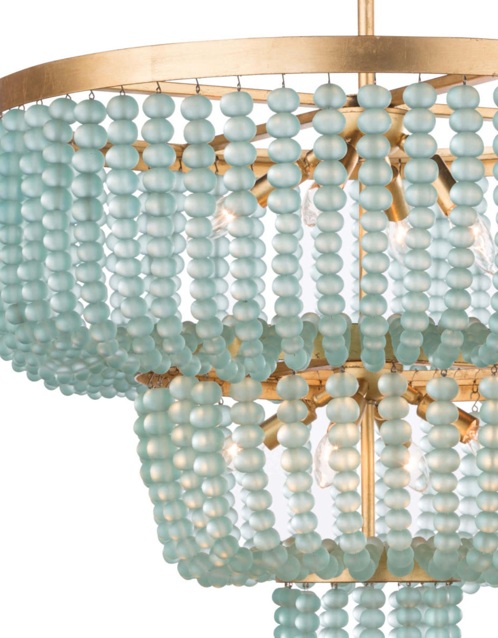 Regina Andrew Design Summer Glass Bead Chandelier, Large