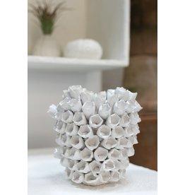 Accent Decor Anemone Vase, 7.75