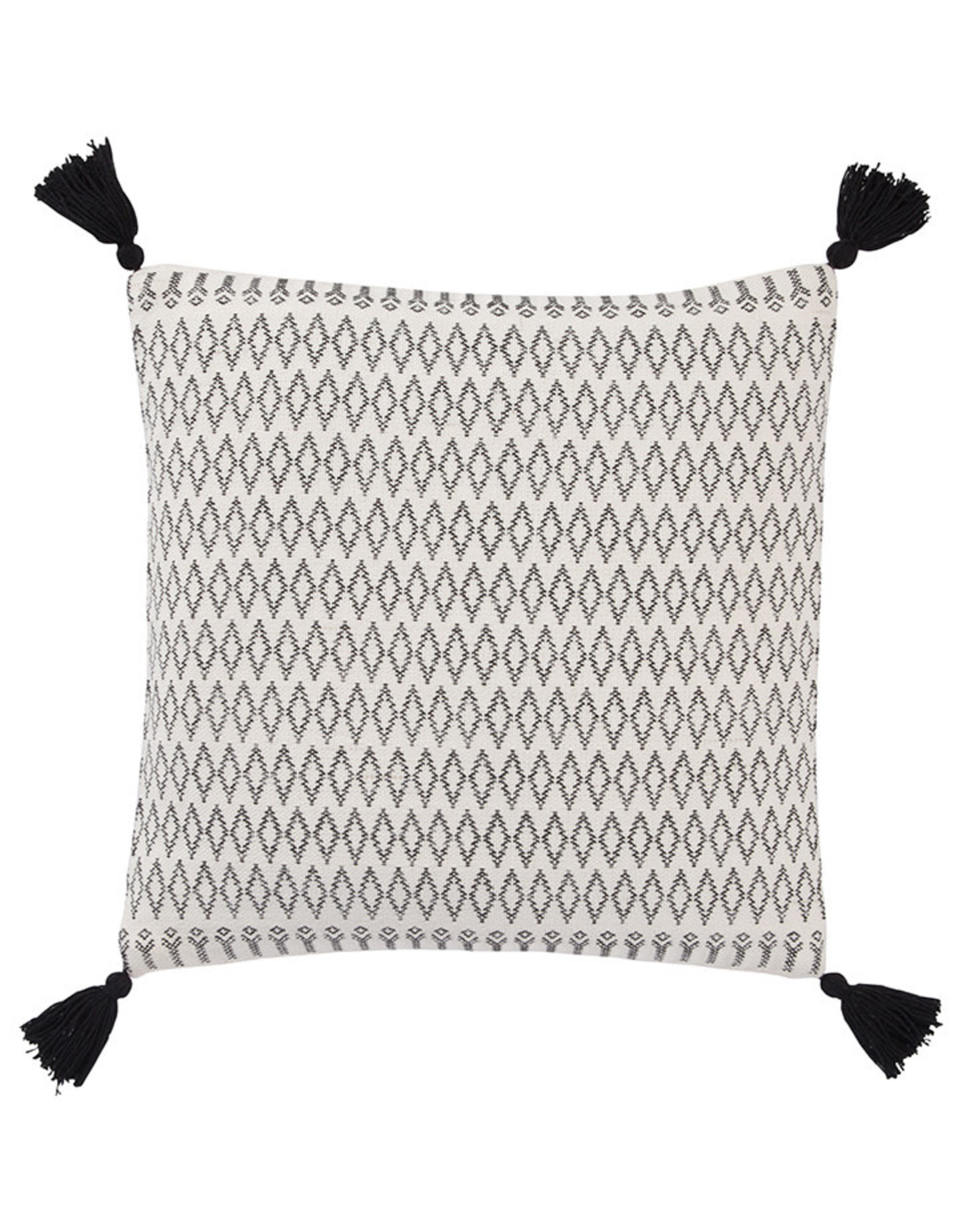 Jaipur White/Stretch Limo-Down Fill Pillow