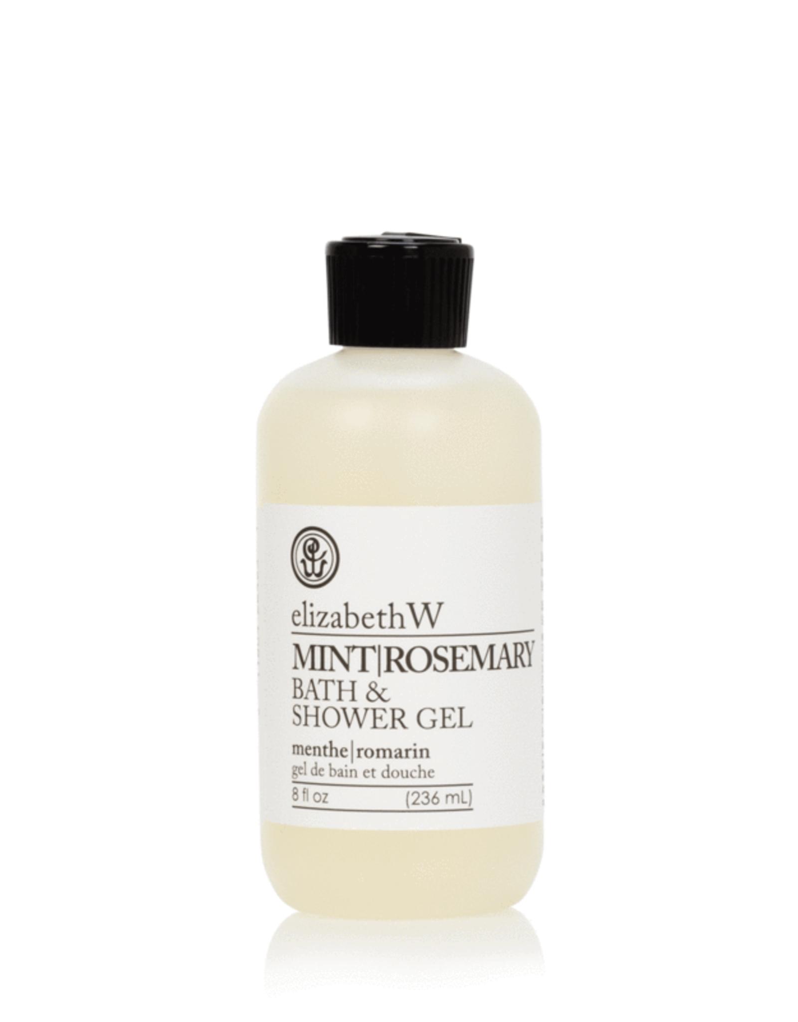 Elizabeth W Mint Rosemary Bath & Shower Gel