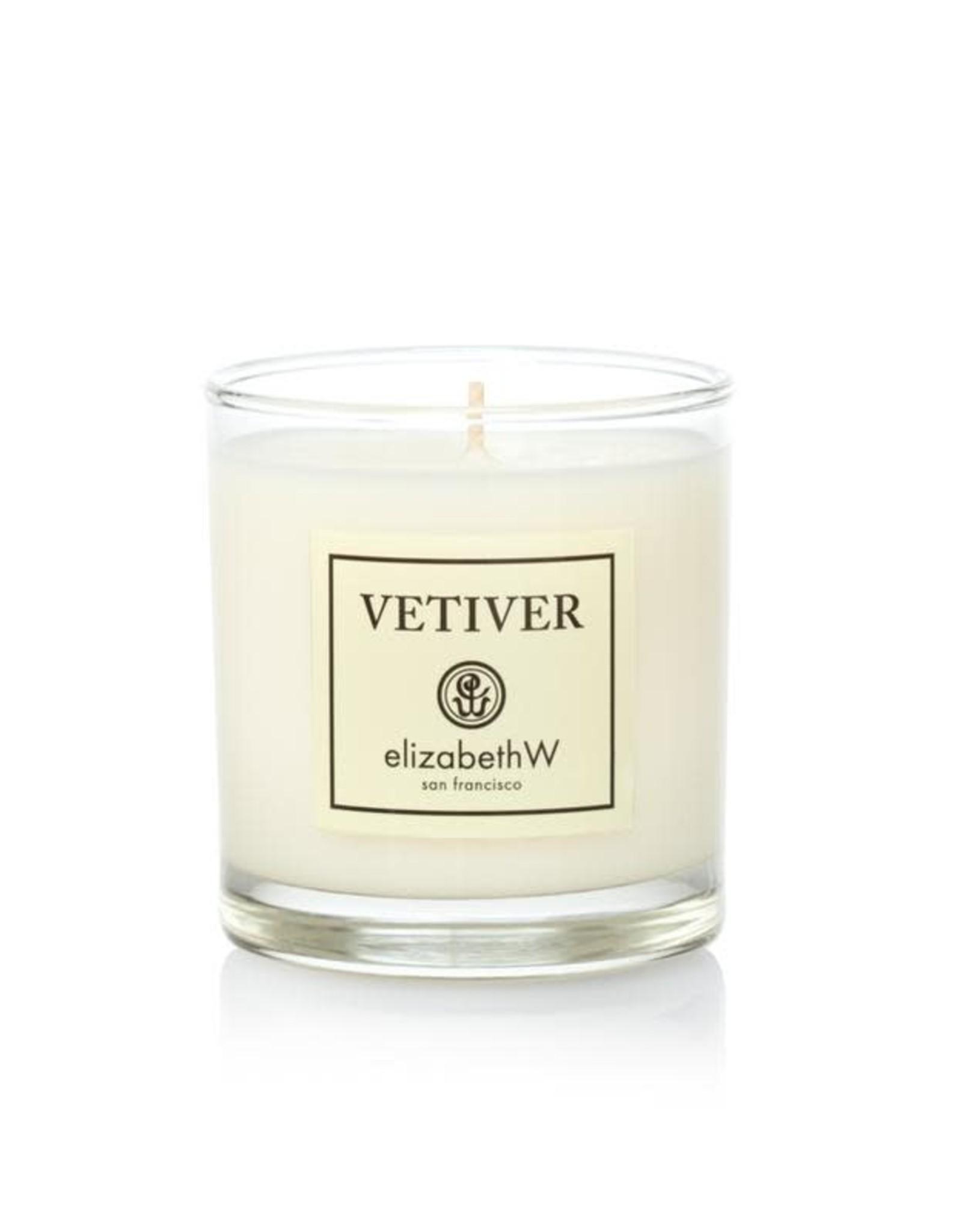 Elizabeth W Vetiver Aromatherapy Candle, 8 oz.