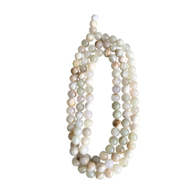 Lily's Living White Jade Beads