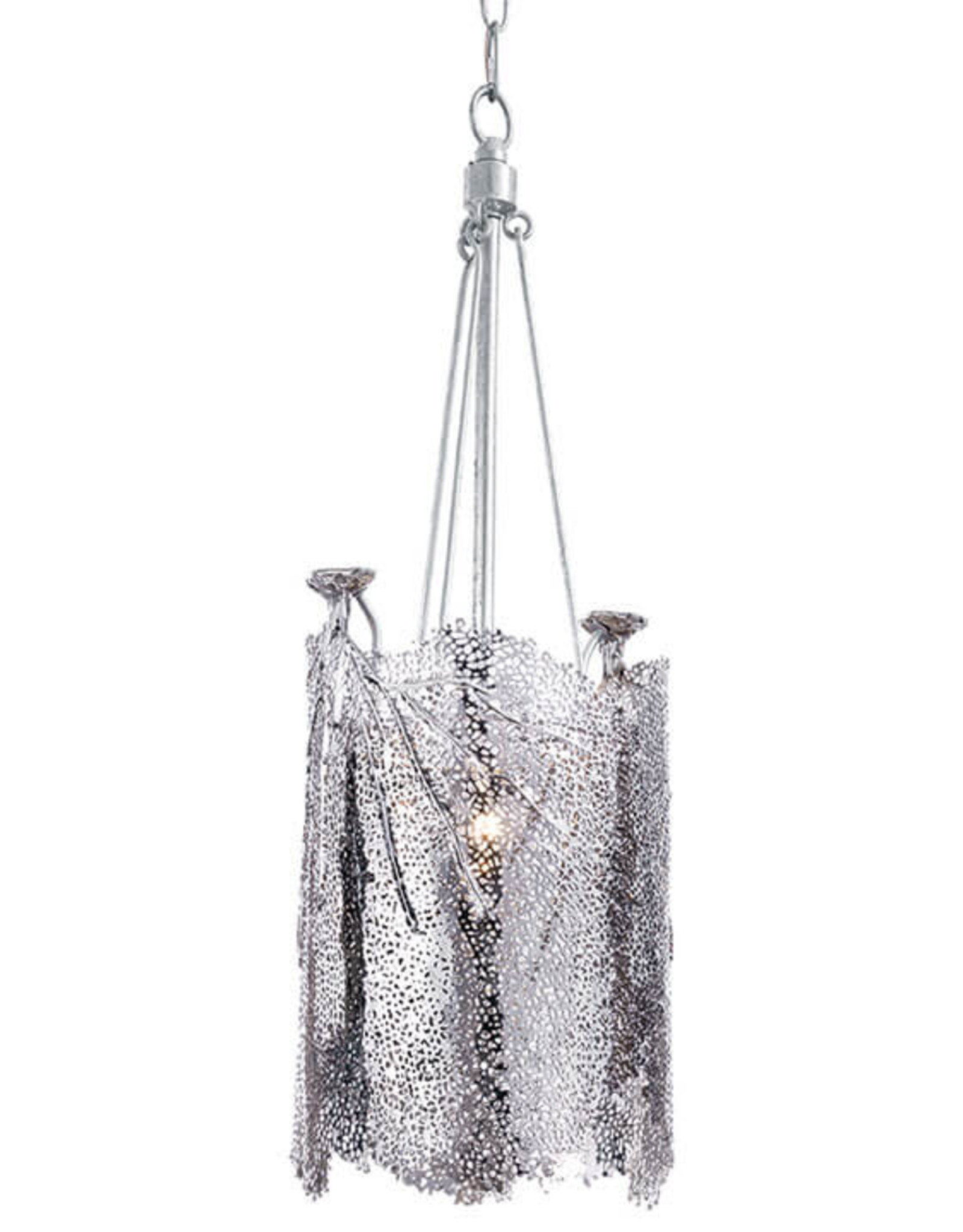 Regina Andrew Design Sea Fan Chandelier Small (Polished Nickel)
