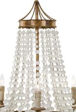 Regina Andrew Design Frosted Crystal Bead Chandelier