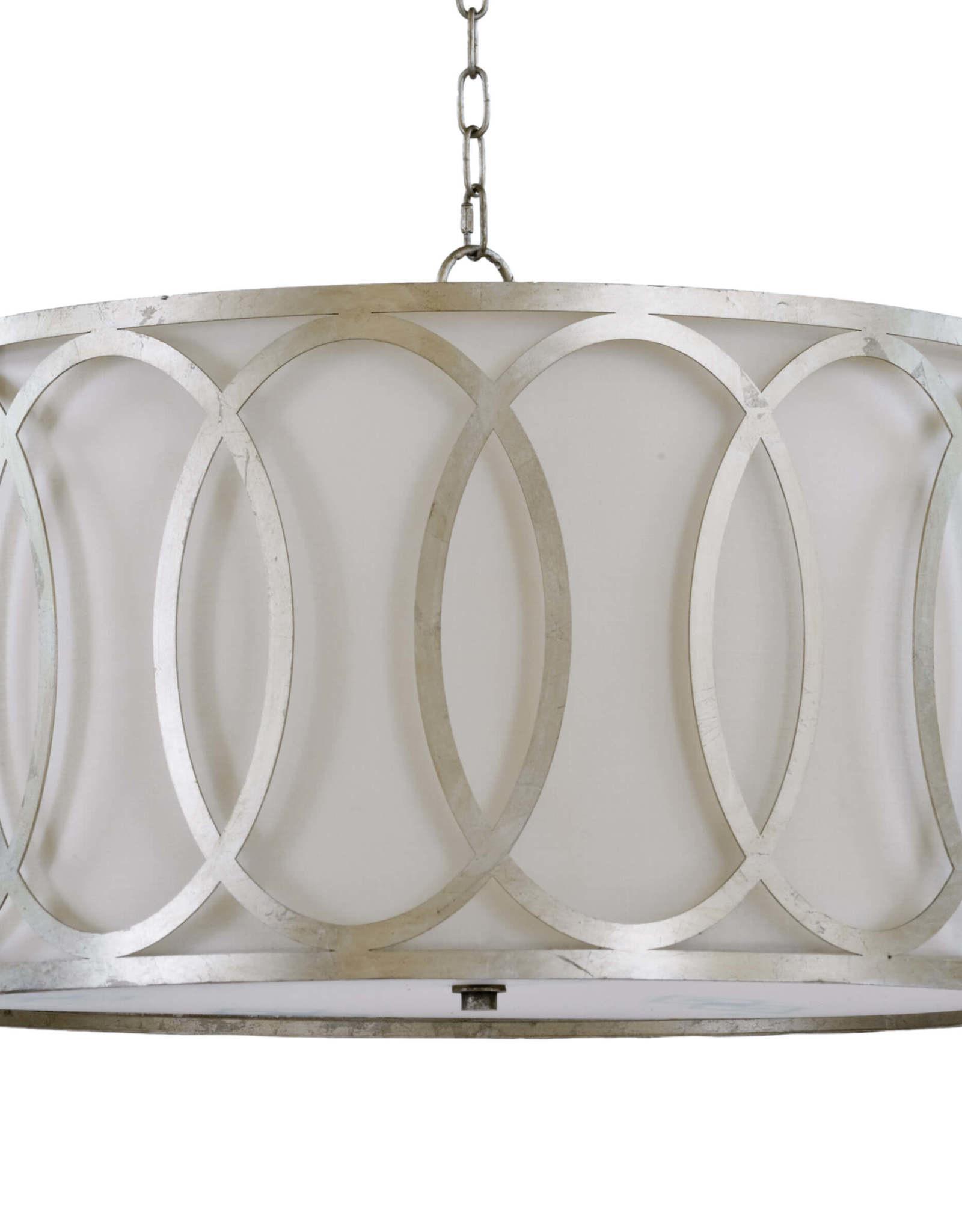 Regina Andrew Design Fusion Chandelier (Silver Leaf)