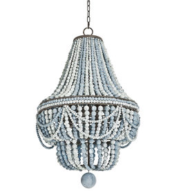 Regina Andrew Design Malibu Chandelier (Weathered Blue)
