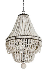 Regina Andrew Design Malibu Chandelier (Weathered White)