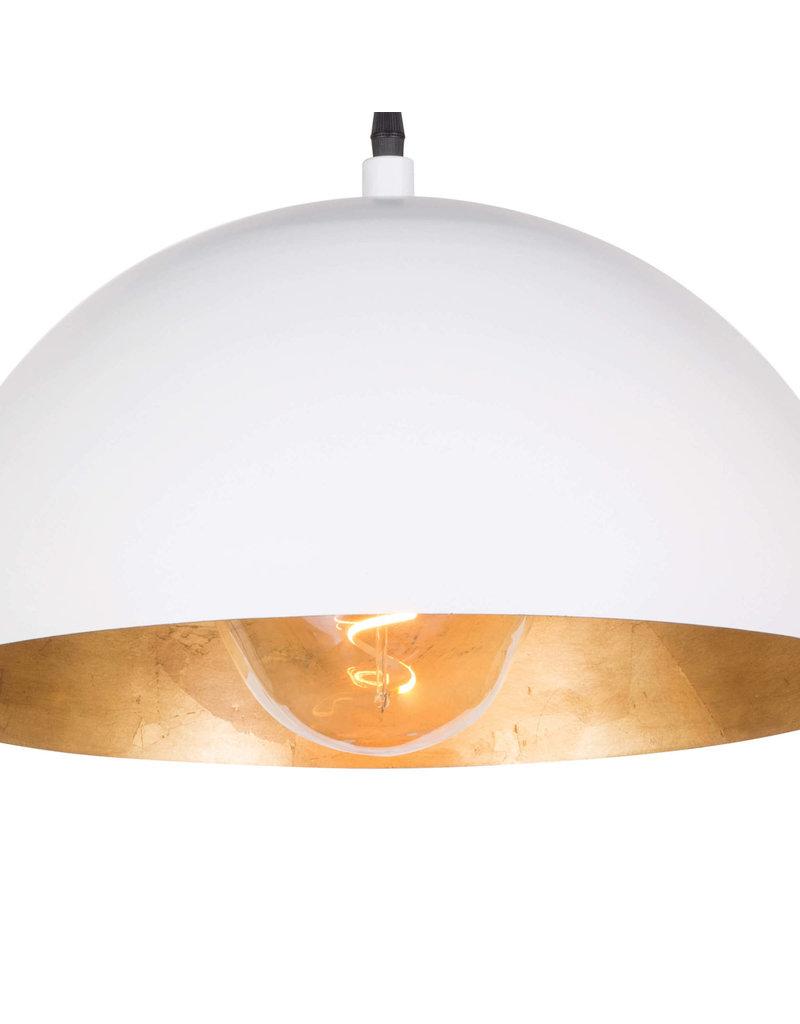 Regina Andrew Design Sigmund Pendant Small - White & Gold