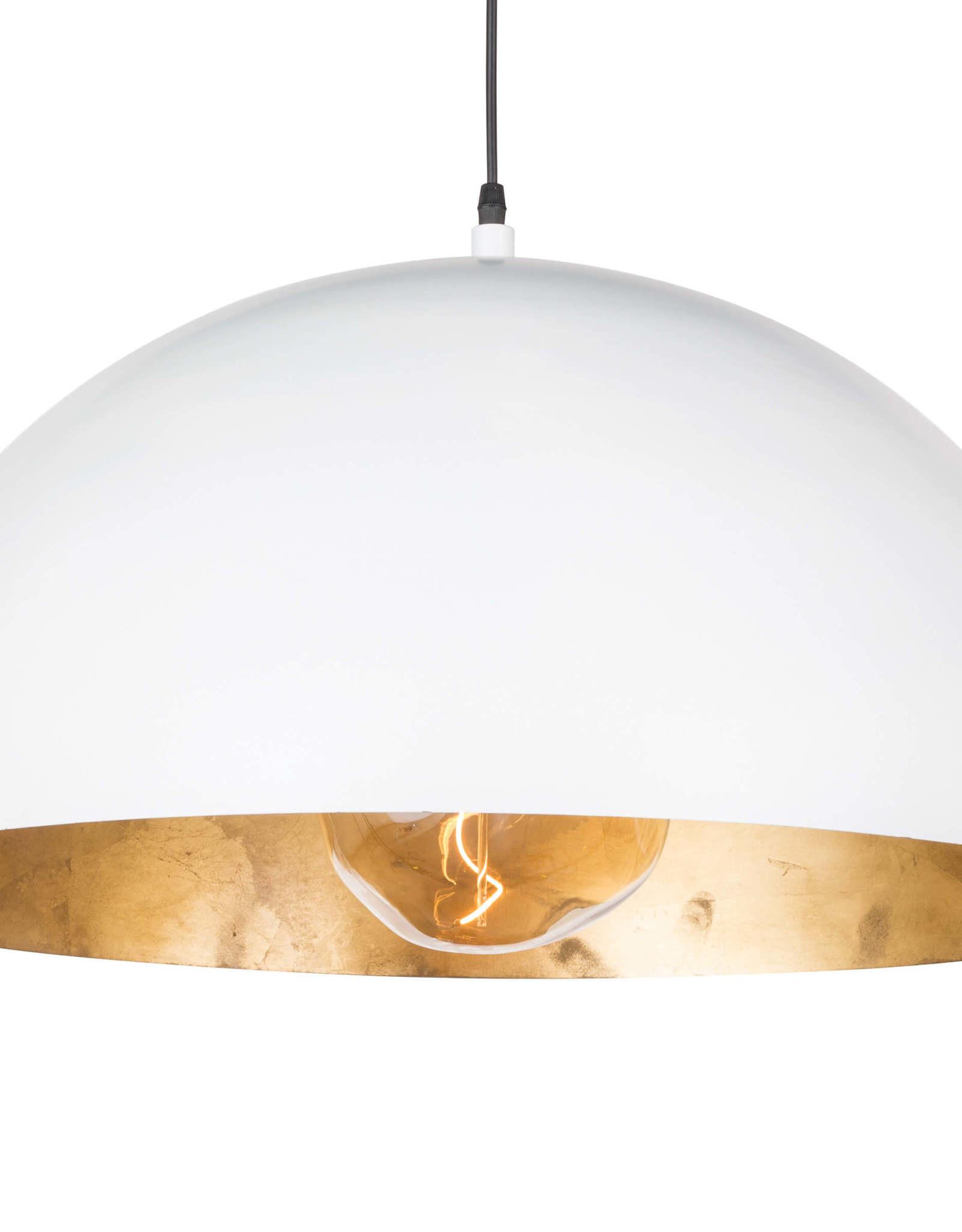 Regina Andrew Design Sigmund Pendant Large (White & Gold)