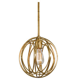 Regina Andrew Design Ofelia Chandelier Small (Gold Leaf)