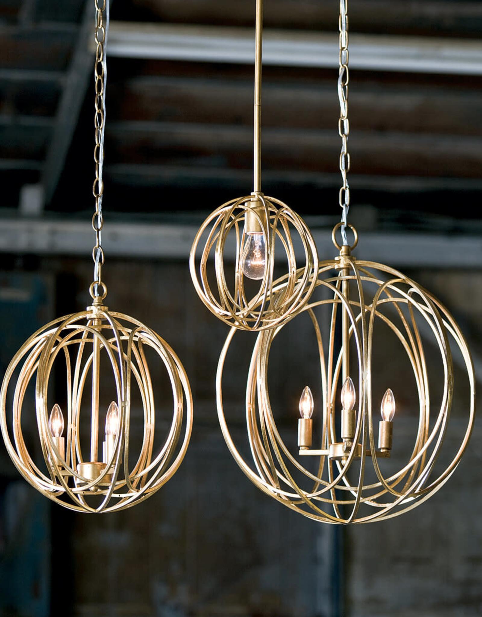 Regina Andrew Design Ofelia Chandelier Large (Gold Leaf)