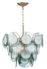 Regina Andrew Design Mini Diva Chandelier (Aqua)