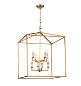 Regina Andrew Design Cape Lantern (Antique Gold Leaf)