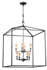 Regina Andrew Design Cape Lantern (Blackened Iron)