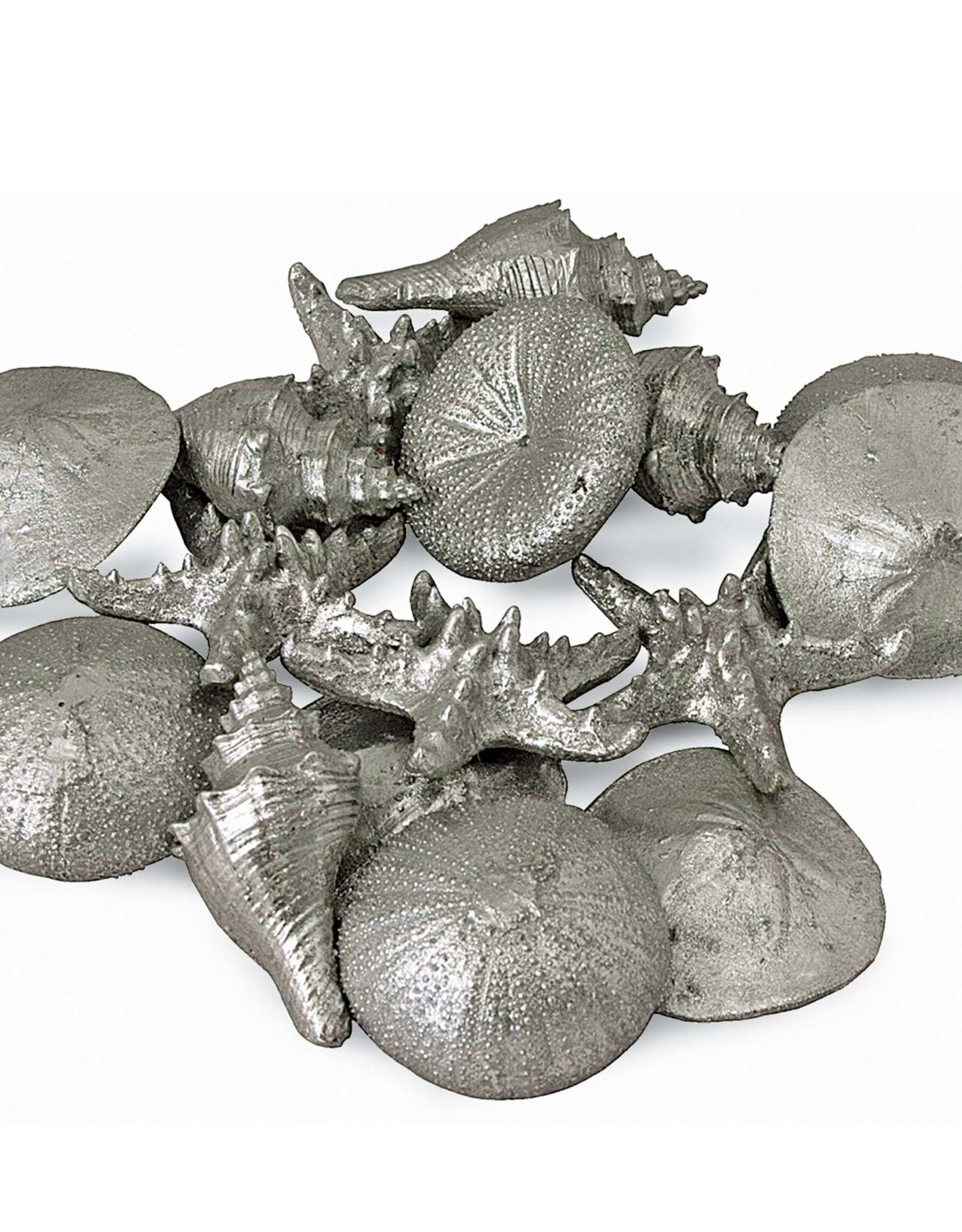 Regina Andrew Design Assorted Mini Seashells Set of 12 (Silver)