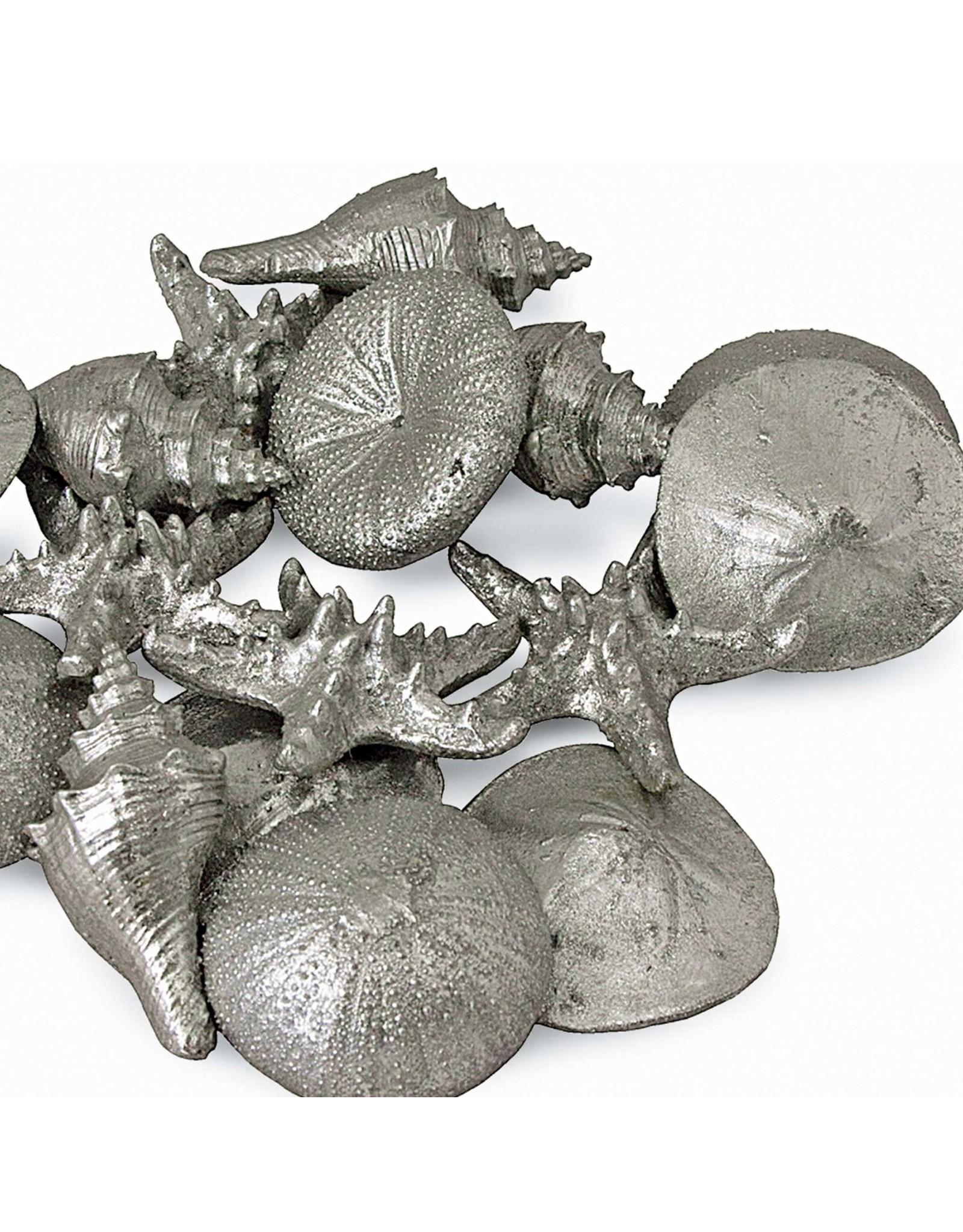 Regina Andrew Design Assorted Mini Seashells Set of 12 (Silver)