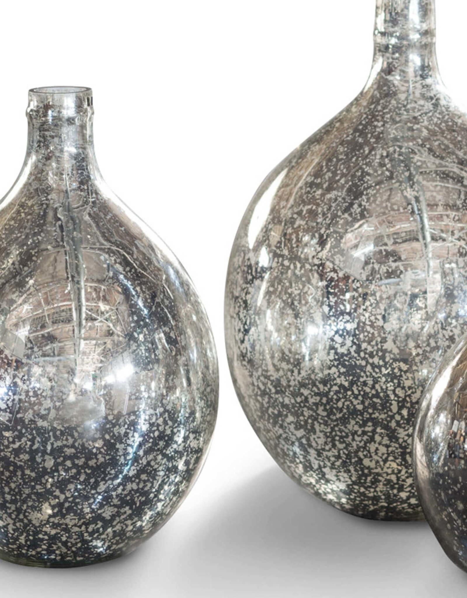 Regina Andrew Design Wine Spheres Set of 3 (Antique Mercury)