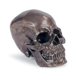 Regina Andrew Design Metal Skull (Antique Bronze)
