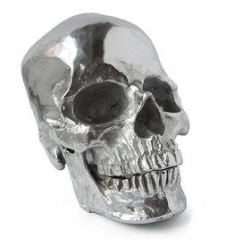 Regina Andrew Design Metal Skull ( Polished Nickel)